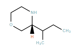 Morpholine,3-(1-methylpropyl)-,(3R)-