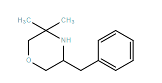 Morpholine,3,3-dimethyl-5-(phenylmethyl)-