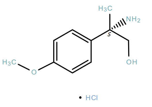 Benzeneethanol,β-amino-4-methoxy-β-methyl-,hydrochloride(1:1),(βS)-