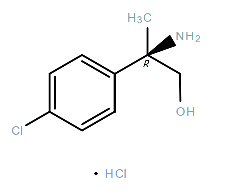 Benzeneethanol,β-amino-4-chloro-β-methyl-,hydrochloride(1:1),(βR)-