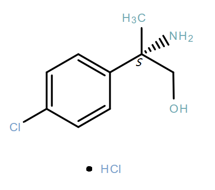 Benzeneethanol,β-amino-4-chloro-β-methyl-,hydrochloride(1:1),(βS)-