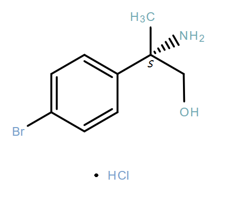 Benzeneethanol,β-amino-4-bromo-β-methyl-,hydrochloride(1:1),(βS)-