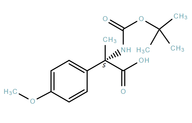 Benzeneaceticacid,α-[[(1,1-dimethylethoxy)carbonyl]amino]-4-methoxy-α-methyl-,(αS)-