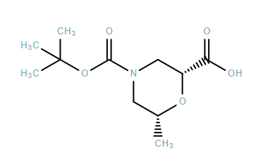 (2R,6R)-4-(tert-butoxycarbonyl)-6-MethylMorpholine-2-carboxylic acid