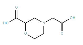 4-Morpholineacetic acid, 2-carboxy-