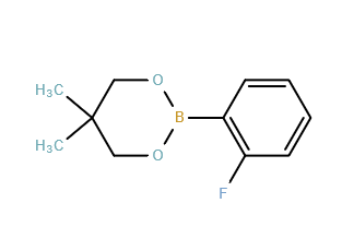 2-(2-Fluorophenyl)-5,5-dimethyl-1,3,2-dioxaborinane