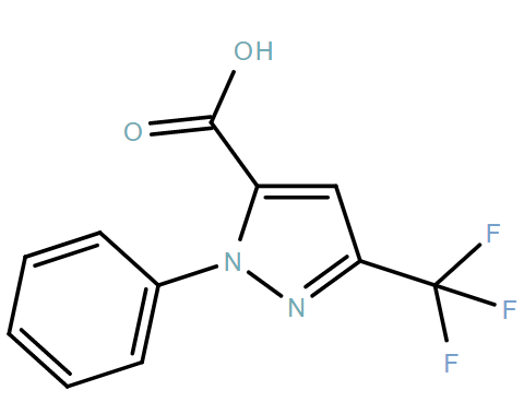 1-Phenyl-3-(trifluoromethyl)-1H-pyrazole-5-carboxylic acid