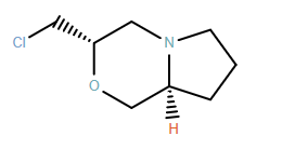 1H-Pyrrolo[2,1-c][1,4]oxazine, 3-(chloromethyl)hexahydro-, (3S,8aS)-