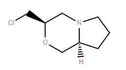 1H-Pyrrolo[2,1-c][1,4]oxazine, 3-(chloromethyl)hexahydro-, (3R,8aS)-