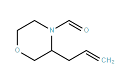 4-Morpholinecarboxaldehyde, 3-(2-propen-1-yl)-