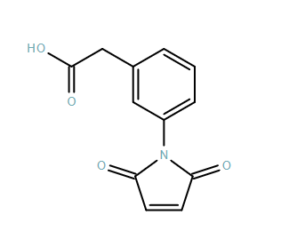 Benzeneacetic acid, 3-(2,5-dihydro-2,5-dioxo-1H-pyrrol-1-yl)-